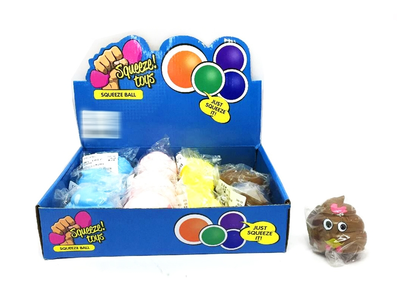 TPR SOFT BALL 12PCS/DISPLAY BOX - HP1145019