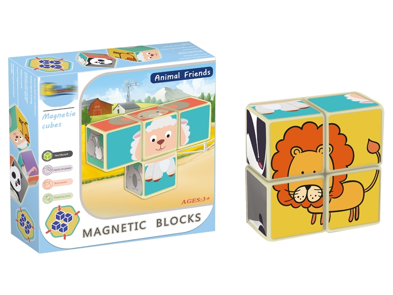 MAGNETIC BUILDING BLOCKS 4PCS - HP1146831