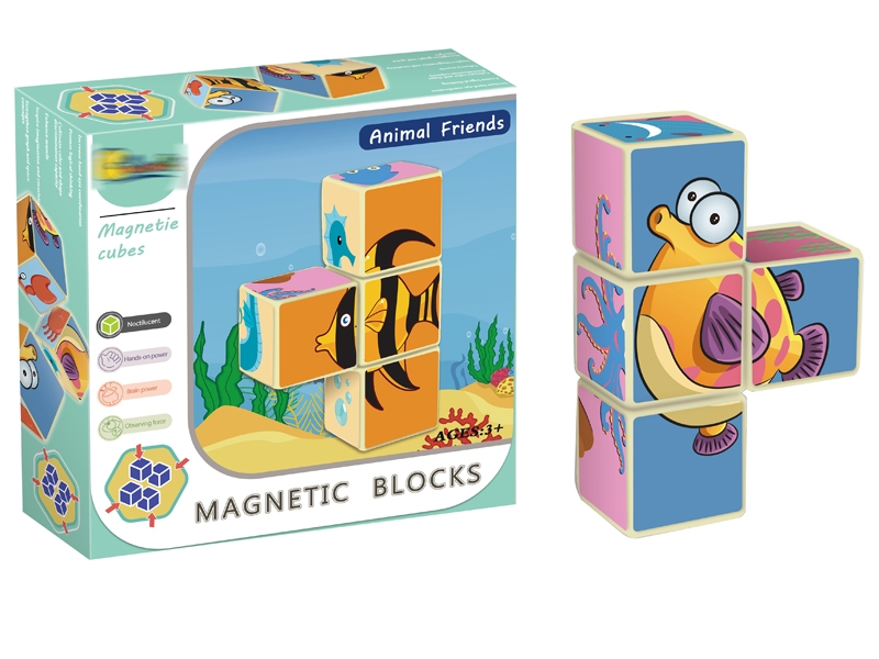 MAGNETIC BUILDING BLOCKS 4PCS - HP1146832