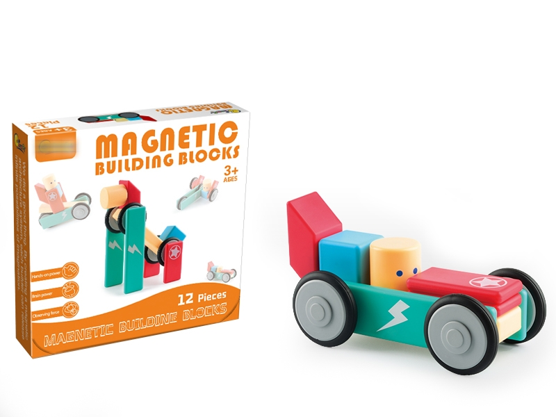 MAGNETIC BUILDING BLOCKS 12PCS - HP1146836