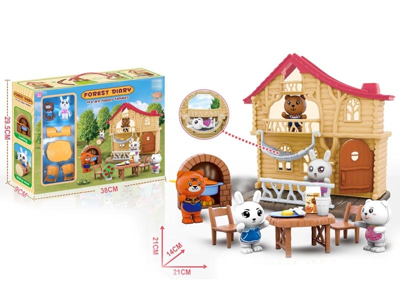 FOREST HOUSE SET - HP1147111