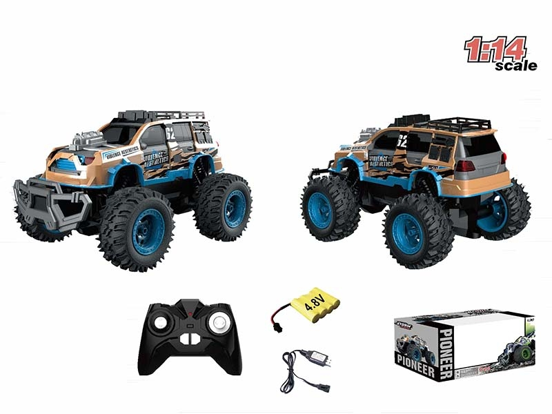 1:14 CHANNEL RC CAR,BLUE - HP1147175