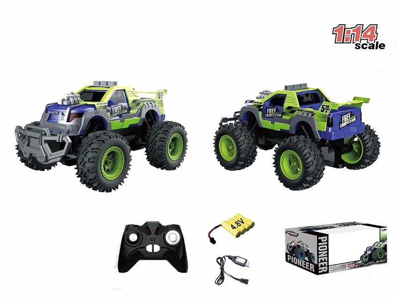 1:14 CHANNEL RC CAR,GREEN - HP1147176