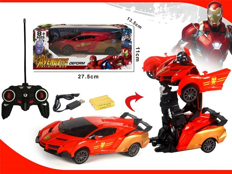 1:16 R/C TRANSFORMER CAR W/LIGHT,INCLUDE BATTERY - HP1155363