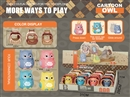 OWL W/CAGE 12PCS/DISPLAY BOX