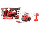 FREE WAY FIRE FIGHTING TRUCK W/MOTOR DRILL